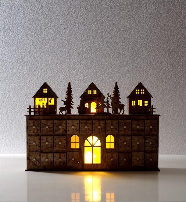 LEDアドベントカレンダー ヴィレッジ(5)