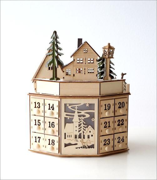 メロディウッドオブジェ アドベントカレンダー(5)