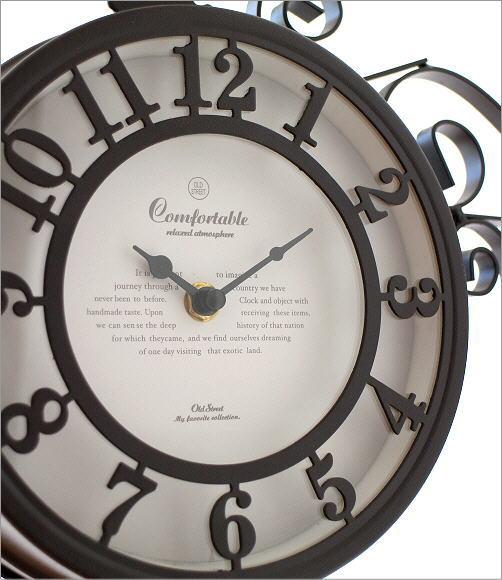 両面掛け時計 ベル(3)