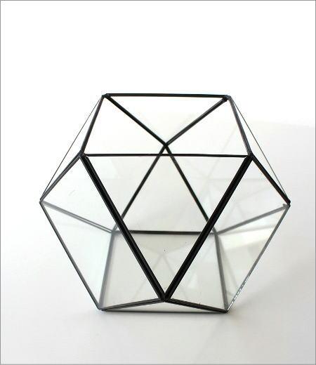 小さなガラスのテラリウムB(5)