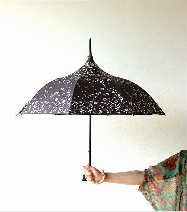 晴雨兼用アンブレラ パゴダC(1)