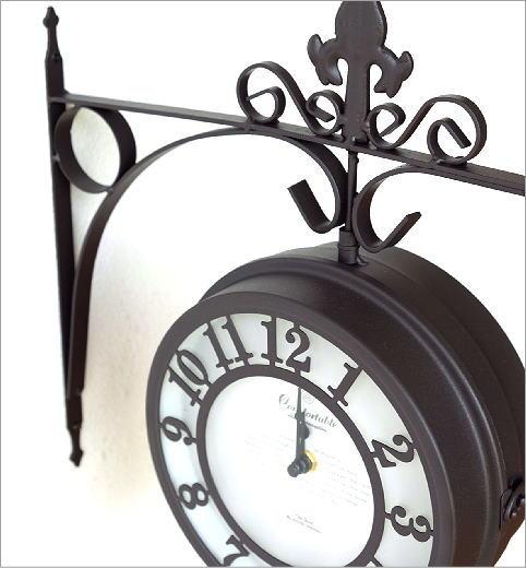 壁掛両面時計 2カラー(2)