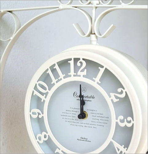 壁掛両面時計 2カラー(3)