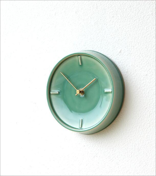 陶器の掛け時計B(1)