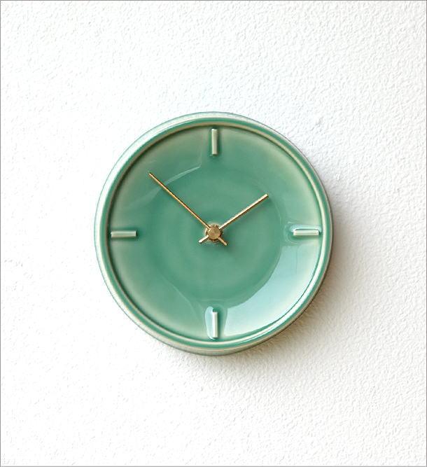 陶器の掛け時計B(4)