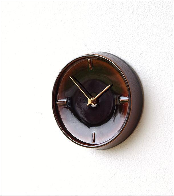 陶器の掛け時計C(1)