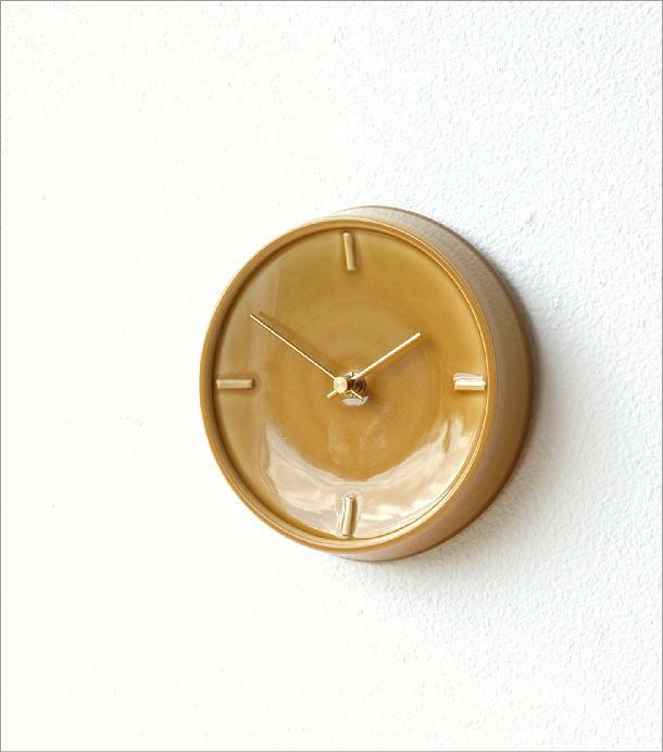 陶器の掛け時計D(1)