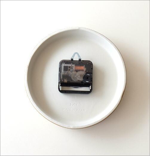 陶器の掛け時計D(3)