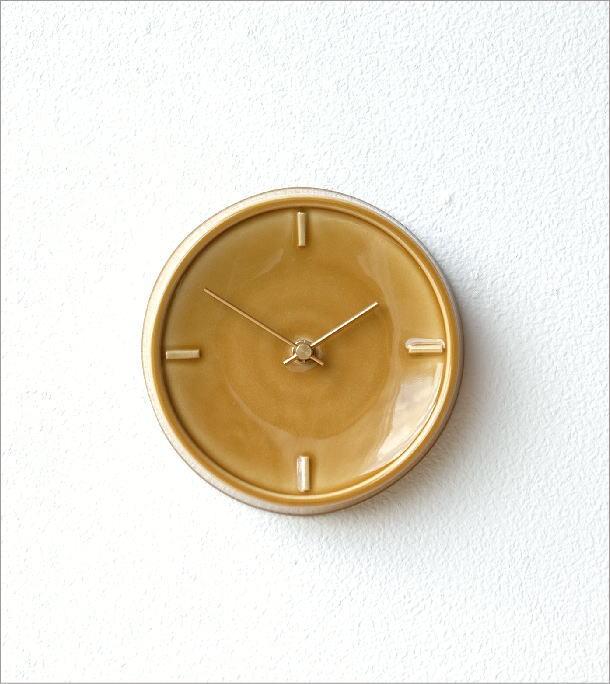 陶器の掛け時計D(4)