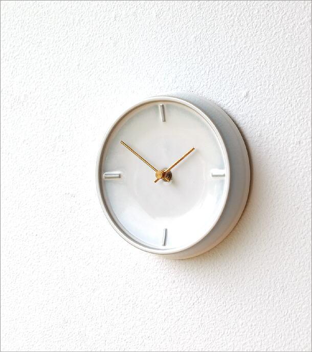 陶器の掛け時計E(1)