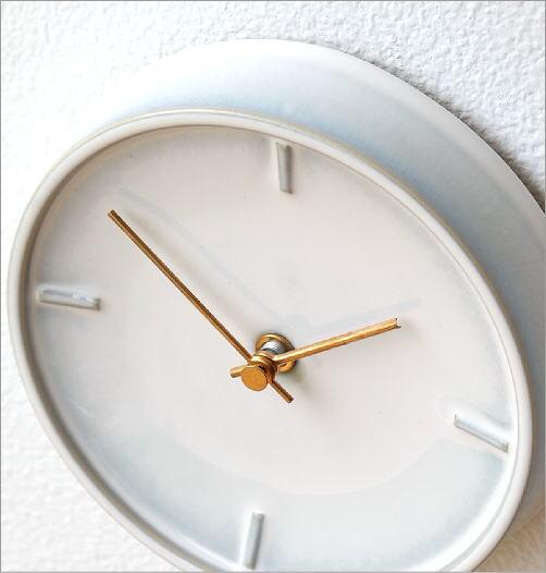 陶器の掛け時計E(2)