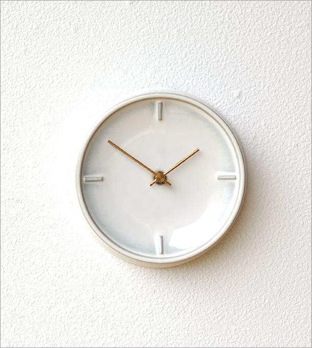 陶器の掛け時計E(4)