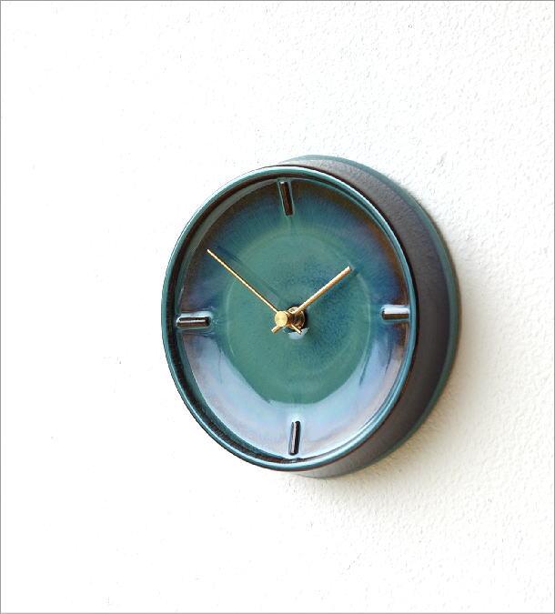 陶器の掛け時計A(1)