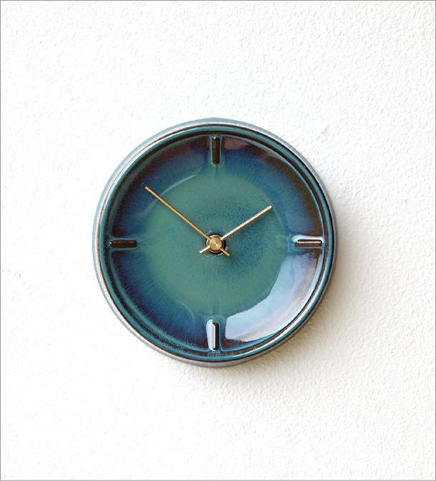 陶器の掛け時計A(4)
