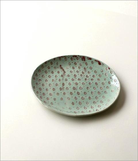 プレート 印伝丸皿(3)