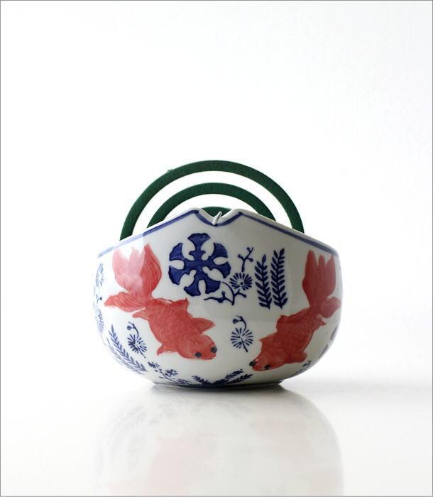 陶器かやり 金魚(4)