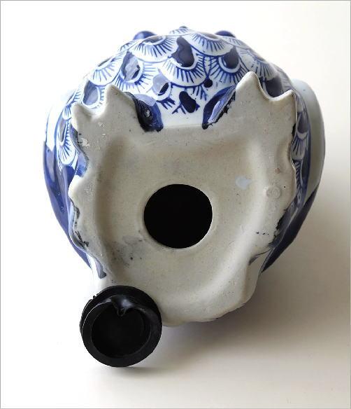 陶器の貯金箱 浮羽梟L(5)