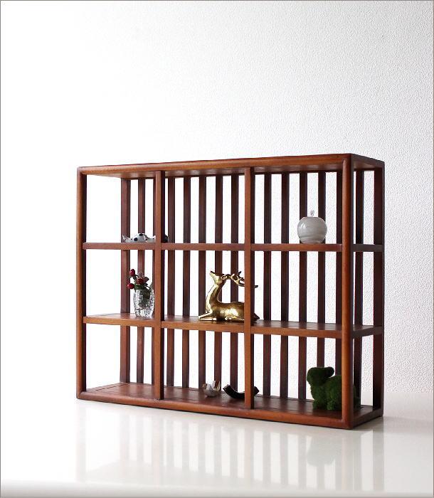 和のコレクション棚 格子(1)