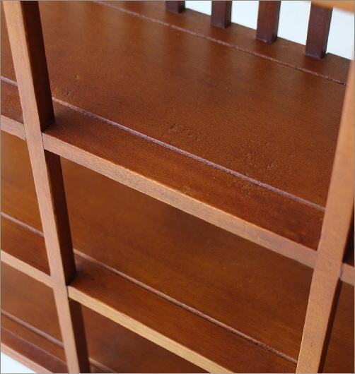 和のコレクション棚 格子(3)