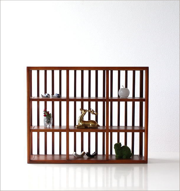 和のコレクション棚 格子(4)