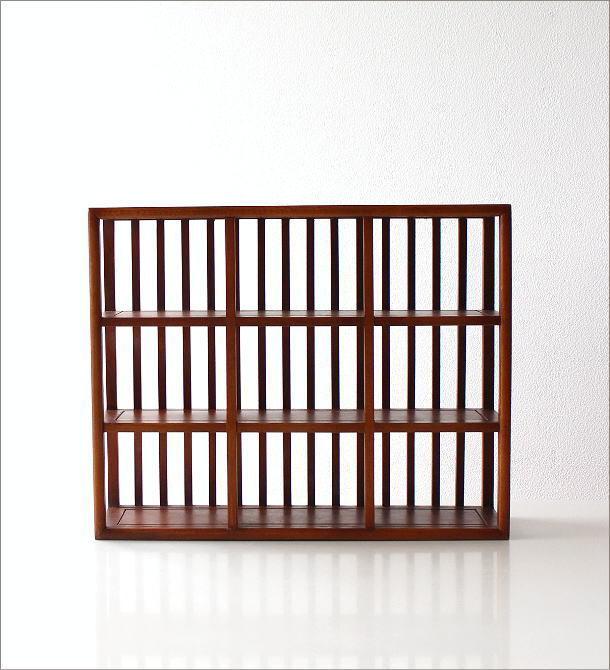 和のコレクション棚 格子(5)