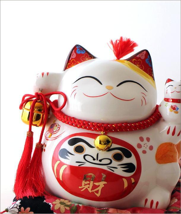 ビッグな招き猫の貯金箱 達磨(1)