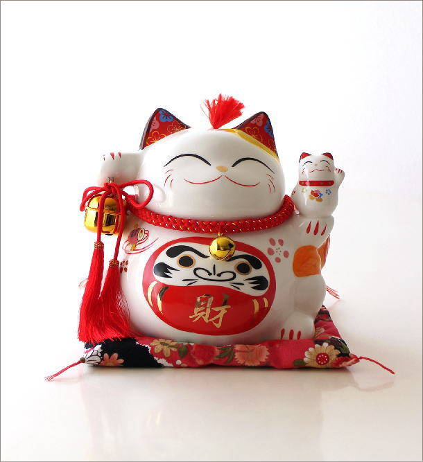 ビッグな招き猫の貯金箱 達磨(6)