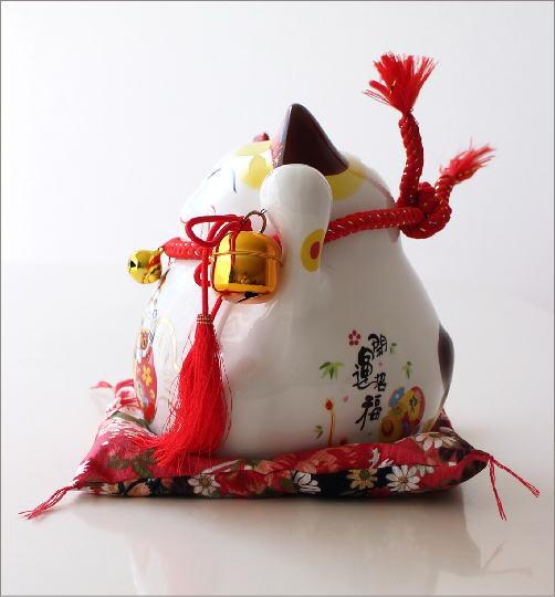 ビッグな招き猫の貯金箱 開運(2)
