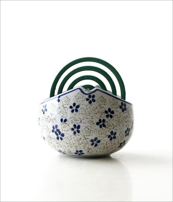 陶器かやり 小花(4)