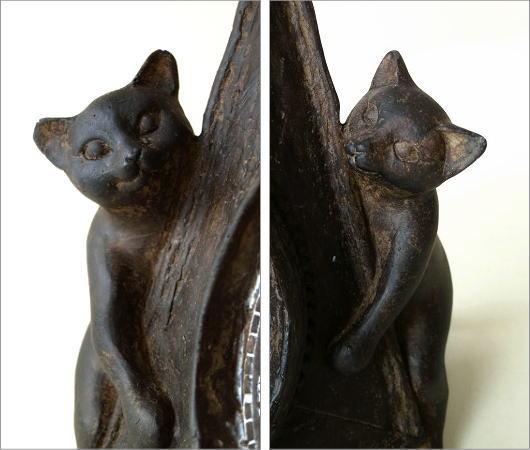 アンティークな時計とネコさん(4)