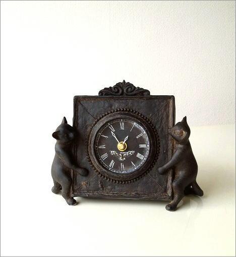 アンティークな時計とネコさん(6)