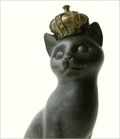 プリンセス立ちポーズ子ネコ