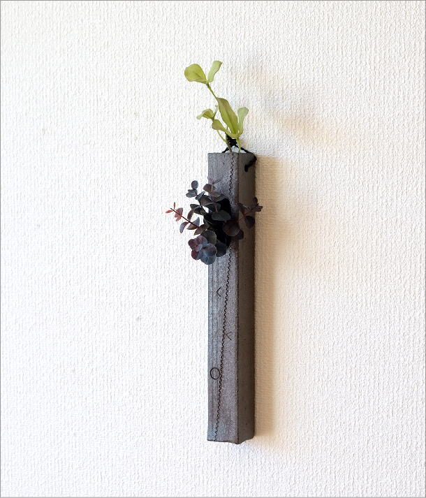 和陶器掛け花二(1)