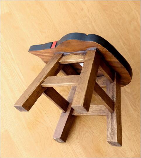 子供椅子 黒ネコさん(4)