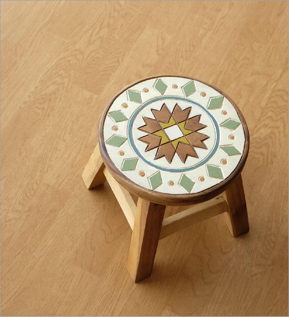子供椅子 モザイク(1)