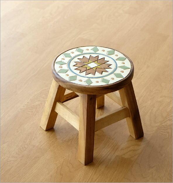 子供椅子 モザイク(5)