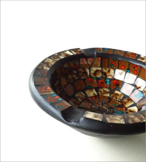 モザイク灰皿(1)