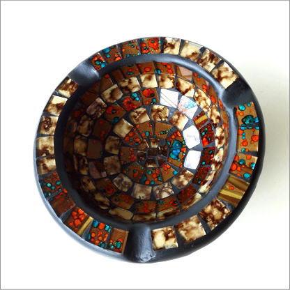 モザイク灰皿(3)