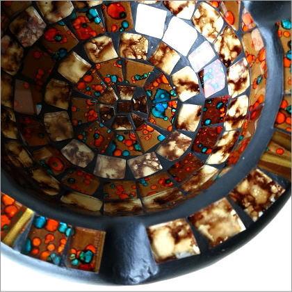 モザイク灰皿(4)