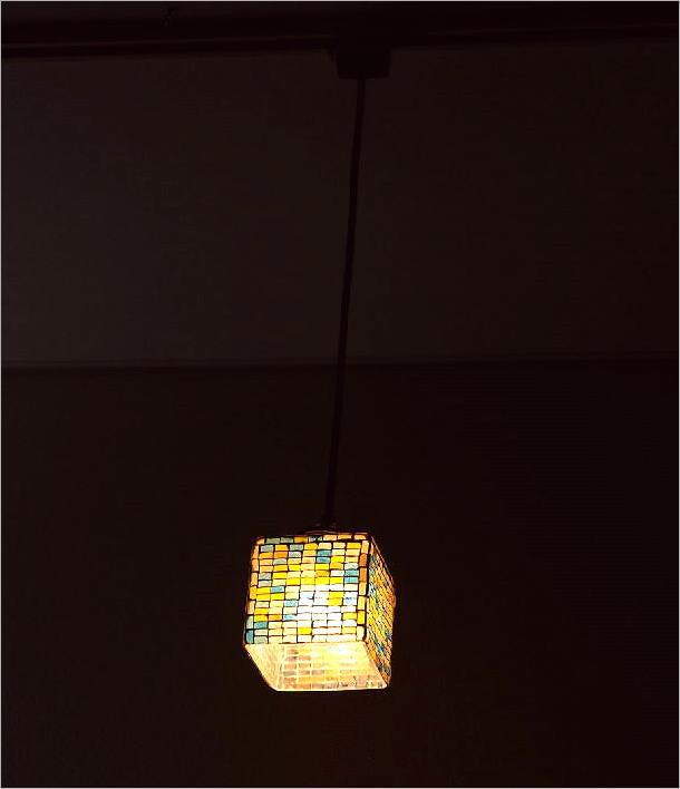 モザイクハンギングランプ スクエアレクタングル(2)