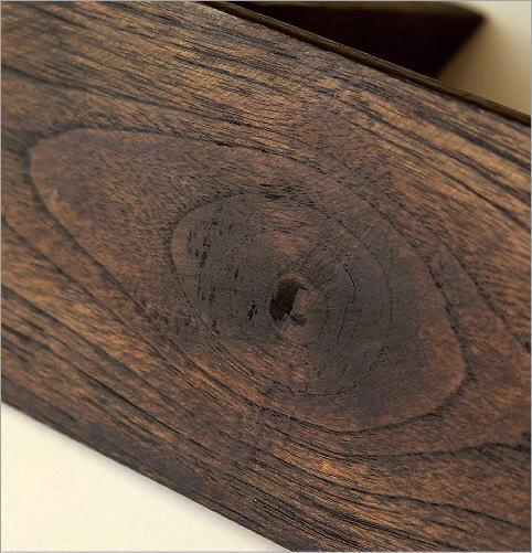 シンプルな古木のウォール棚 S(4)