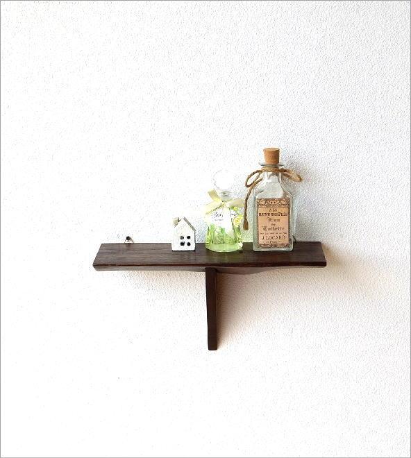 シンプルな古木のウォール棚 S(5)