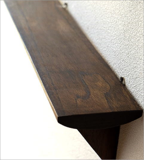 シンプルな古木のウォール棚 M(2)