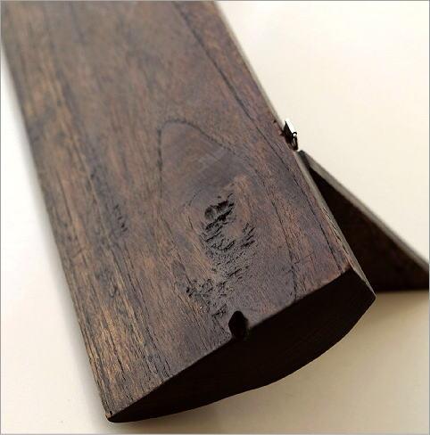 シンプルな古木のウォール棚 M(4)