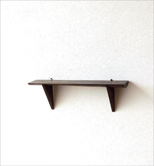 シンプルな古木のウォール棚 M(5)