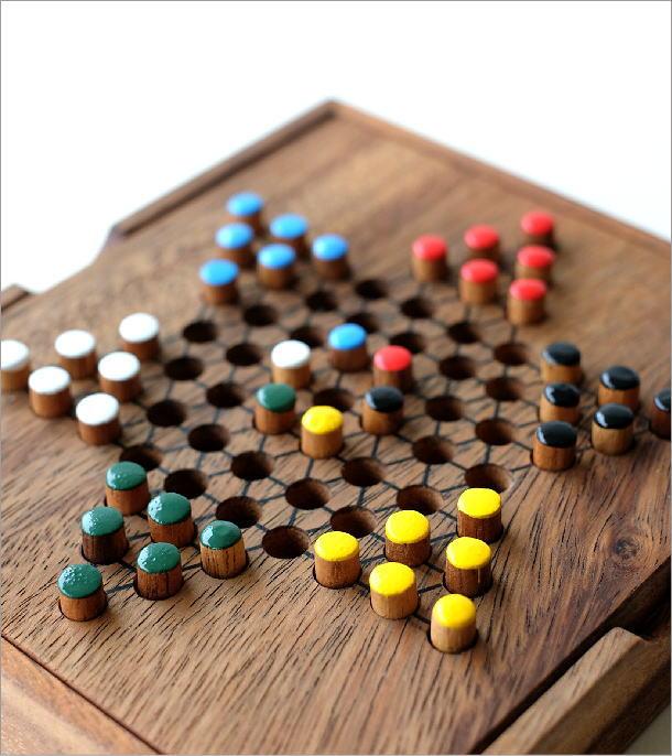 ウッドパズル ダイアモンドゲーム(1)