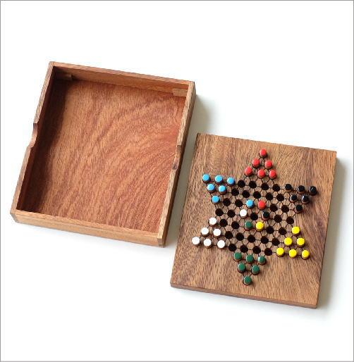 ウッドパズル ダイアモンドゲーム(2)