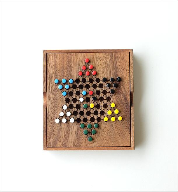 ウッドパズル ダイアモンドゲーム(5)