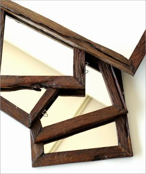 古木のシンプルミラー(6)