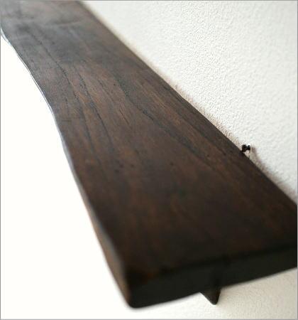 シンプルな古木のウォール棚(2)